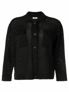 Coohem knitted long sleeve shirt - Black