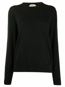 Nº21 knitted top - Black