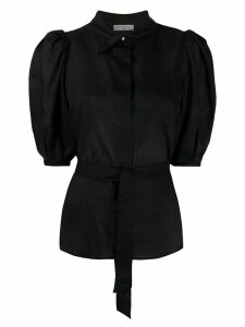 Sandro Paris slim fit blouse - Black