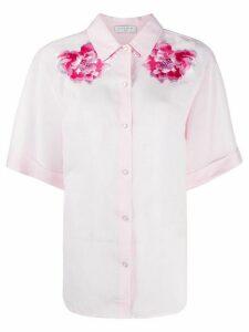 Sandro Paris floral shirt - PINK