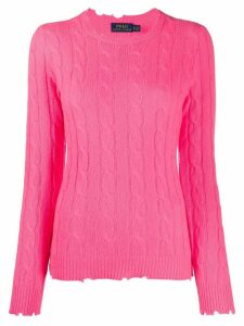 Polo Ralph Lauren cable knit jumper - PINK