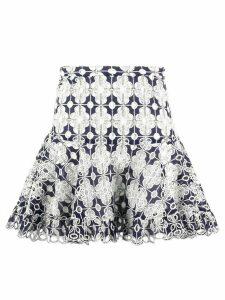 Sandro Paris printed skirt - Blue