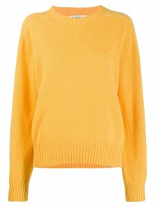 YMC Jets crew neck jumper - Yellow