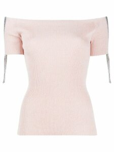 MRZ ribbed knitted top - PINK