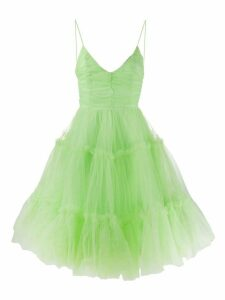 Brognano layered tutu dress - Green