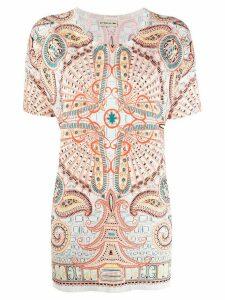 Etro paisley-print knit top - NEUTRALS