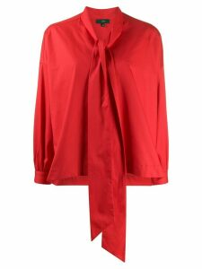 Jejia pussy bow detailed blouse - Red