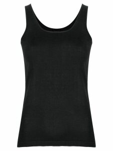 Max & Moi knitted-style tank top - Black