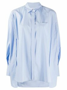 Enföld Somelos oversized shirt - Blue