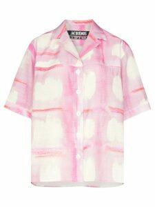 Jacquemus La Chemise Vallena shirt - PINK