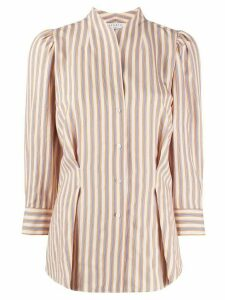 Sandro Paris striped blouse - Yellow