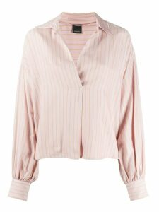 Pinko striped print blouse