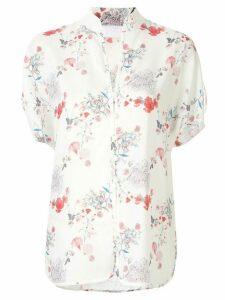 Mame Kurogouchi floral print blouse - White