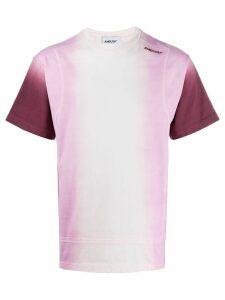 AMBUSH tie-dye print crew neck T-shirt - PINK