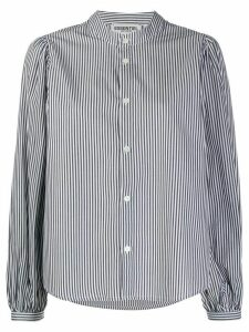 Essentiel Antwerp Viris striped cotton shirt - Black
