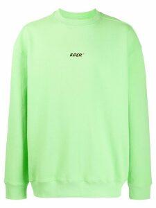 Ader Error logo-print sweatshirt - Green