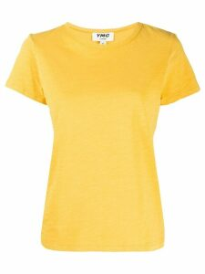 YMC solid-color T-shirt - Yellow