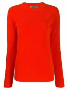Essentiel Antwerp ribbed knit jumper - ORANGE