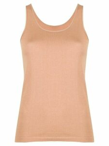 Max & Moi knitted-style tank top - NEUTRALS