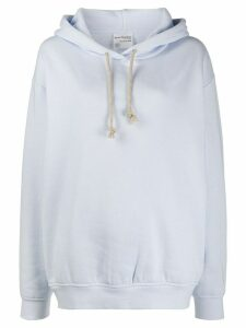 Acne Studios oversized dropped shoulders hoodie - Blue