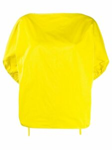 Nº21 balloon sleeves blouse - Yellow