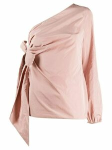 Nº21 one shoulder draped blouse - PINK
