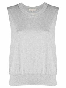 Filippa K Soft Sport elasticated-hem tank top - Grey