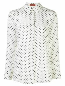 Altuzarra polka dot button up shirt - White
