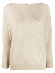 Liska relaxed fit jumper - NEUTRALS