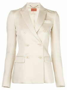 Altuzarra Indiana double-breasted blazer - NEUTRALS