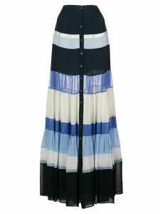 Altuzarra Starboard striped maxi skirt - Blue