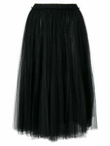 Nº21 tutu-style full skirt - Black