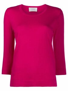 Snobby Sheep scoop neck knitted top - PINK