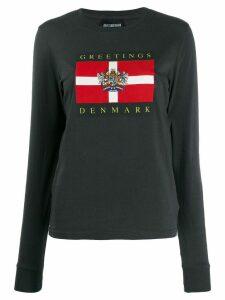 Han Kjøbenhavn Greetings Denmark T-shirt - Grey