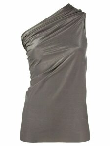 Rick Owens Lilies one shoulder top - Brown