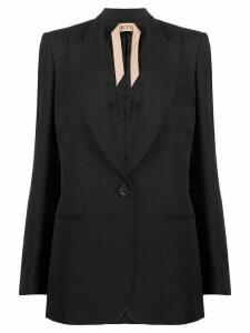Nº21 Tailored one button blazer - Black