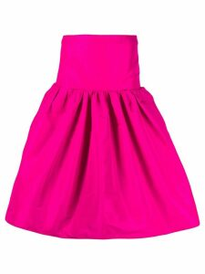 Nº21 structured flared midi-skirt - PINK