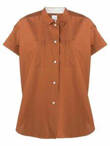 Paul Smith oversized short sleeve shirt - Brown