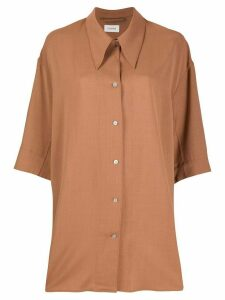 Lemaire oversized shirt - Brown