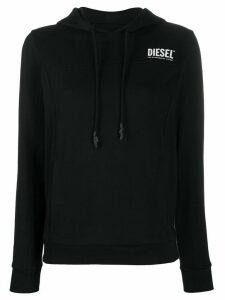 Diesel logo hoodie - Black