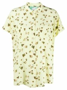 Paul Smith oversized floral print shirt - Yellow