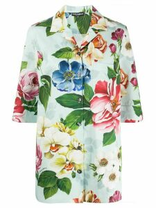 Dolce & Gabbana floral print shirt - Blue