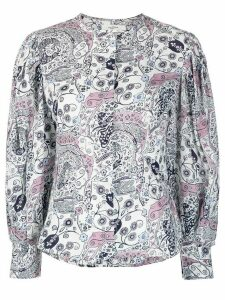 Isabel Marant Étoile abstract print blouse - White