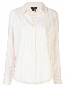 PAIGE Davlyn striped shirt - PINK
