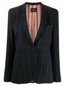 PS Paul Smith tailored check jacket - Blue