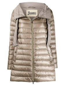 Herno quilted feather-down jacket - NEUTRALS