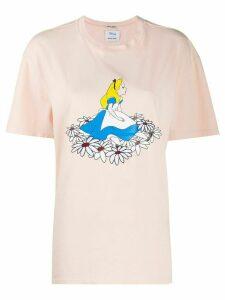 Miu Miu x Disney Alice in Wonderland T-shirt - ORANGE