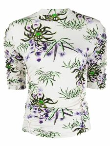 Kenzo Sea Lily stretch-fit T-shirt - NEUTRALS
