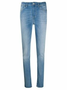 Emporio Armani mid-rise skinny jeans - Blue