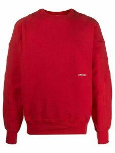 AMBUSH loose-fit sweatshirt - Red